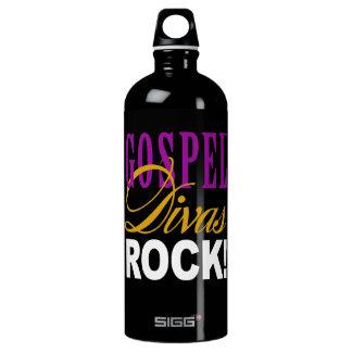 """CHICAGO BLING - """"Gospel Divas Rock"""" Aluminum Water Bottle"""