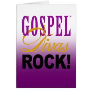 """CHICAGO BLING - """"Gospel Divas Rock!"""" Card"""
