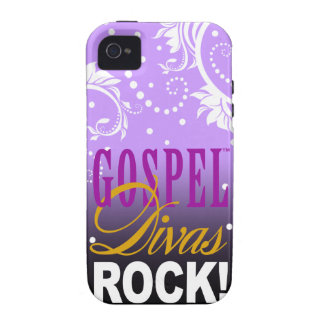 "CHICAGO BLING - ""Gospel Divas Rock!"" iPhone 4 Cover"