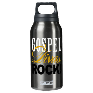 "CHICAGO BLING - ""Gospel Divas Rock"" Insulated Water Bottle"