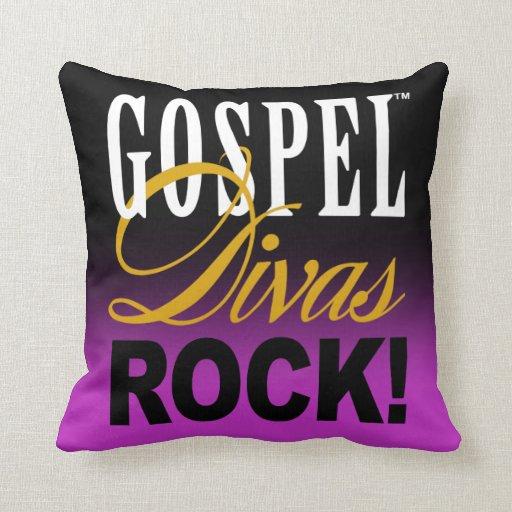 """CHICAGO BLING - """"Gospel Divas Rock!"""" Pillows"""