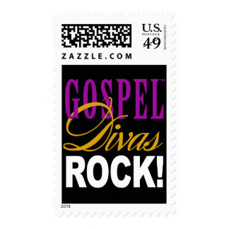 """CHICAGO BLING - """"Gospel Divas Rock!"""" Postage Stamp"""