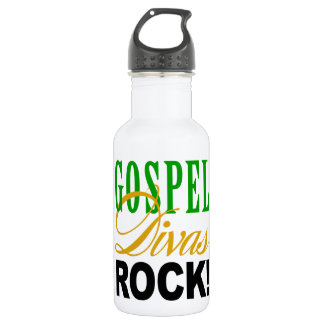 "CHICAGO BLING - ""Gospel Divas Rock"" Stainless Steel Water Bottle"
