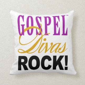 "CHICAGO BLING - ""Gospel Divas Rock!"" Throw Pillow"
