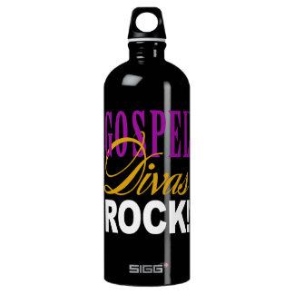 """CHICAGO BLING - """"Gospel Divas Rock"""" Water Bottle"""