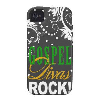 """¡CHICAGO BLING - """"roca de las divas del evangelio! Vibe iPhone 4 Carcasas"""