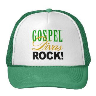 """¡CHICAGO BLING - """"roca de las divas del evangelio! Gorras"""