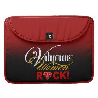 """¡CHICAGO BLING - """"roca de las mujeres voluptuosas! Fundas Macbook Pro"""
