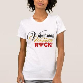 """¡CHICAGO BLING - """"roca de las mujeres voluptuosas! Tshirts"""