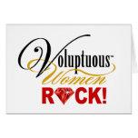 "CHICAGO BLING - ""Voluptuous Women Rock!"" Greeting Card"