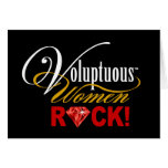 "CHICAGO BLING - ""Voluptuous Women Rock!"" Cards"