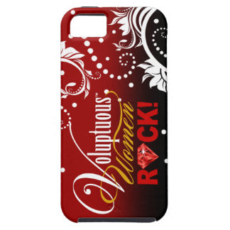 """CHICAGO BLING - """"Voluptuous Women Rock!"""" iPhone 5 Covers"""