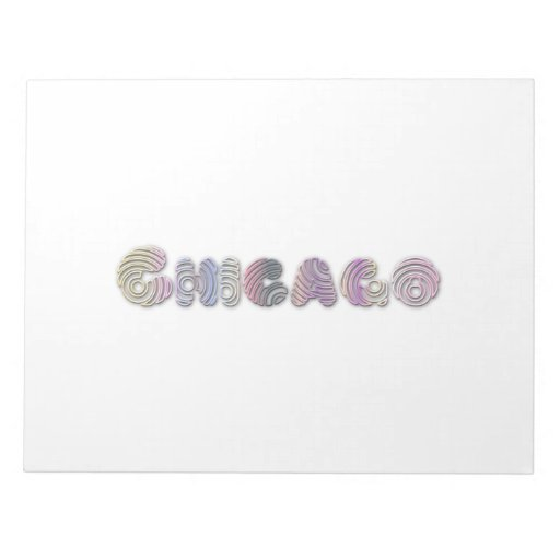 Chicago Blocs De Notas