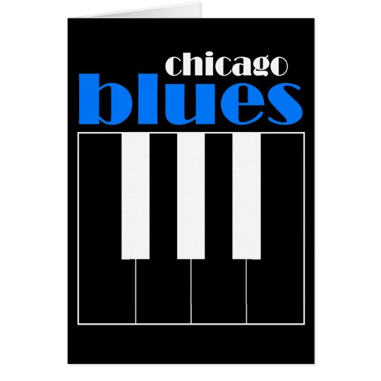 Chicago blues card