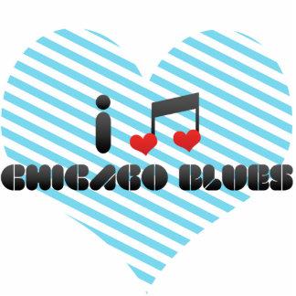 Chicago Blues fan Photo Cut Out