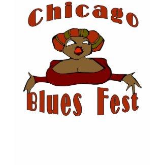 Chicago Blues Fest shirt