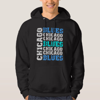 Chicago blues hoodie