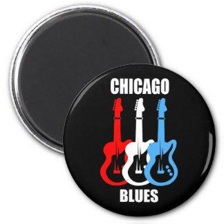 Chicago Blues Fridge Magnet