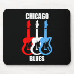 Chicago Blues Mouse Pad