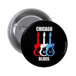 Chicago Blues Pinback Button