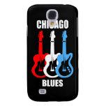 Chicago Blues Samsung Galaxy S4 Case