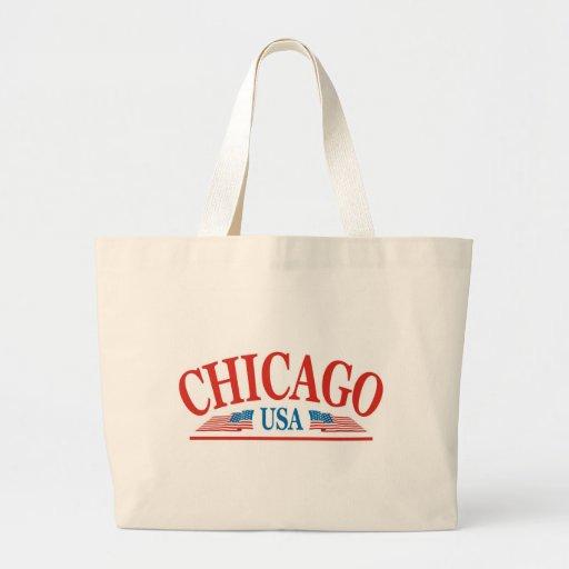 Chicago Bolsa Tela Grande