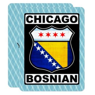 Chicago Bosnian American Card