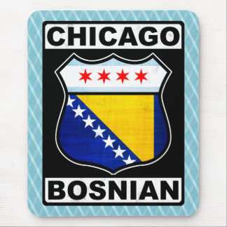 Chicago Bosnian American Mouse Pad