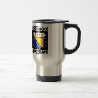 Chicago Bosnian American Travel Mug