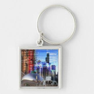 Chicago - Bridgeport Keychain