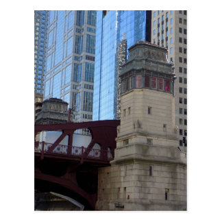 Chicago Bridges Postcard