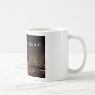 CHICAGO Buckingham Fountain (St.K) Classic White Coffee Mug