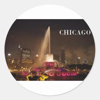 CHICAGO Buckingham Fountain (St.K) Sticker