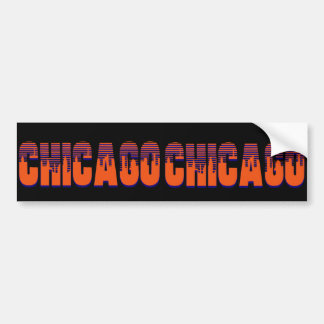 Chicago Car Bumper Sticker