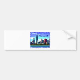 Chicago Car Bumper Sticker