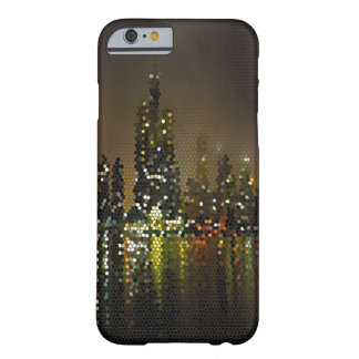Chicago by Night Girly Bling Popular Abstract Barely There iPhone 6 Case
