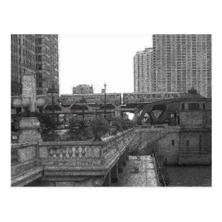 Chicago...by the River Postcard