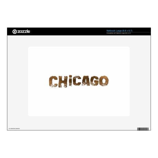 Chicago Calcomanías Para Netbooks