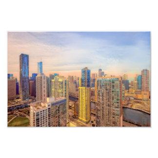 Chicago céntrica impresiones fotograficas