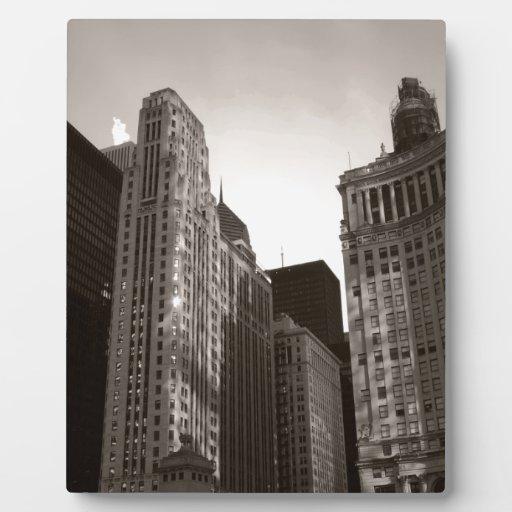 Chicago céntrica placa