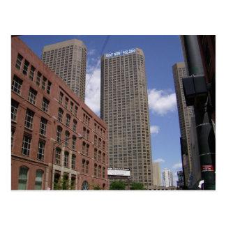 Chicago céntrica por el río postales