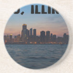 Chicago - céntrica posavasos manualidades