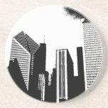 Chicago céntrica posavasos personalizados