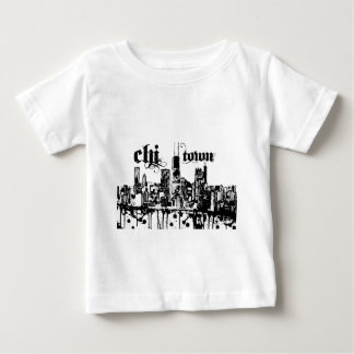 "Chicago ""chi-town"" put on for your city baby T-Shirt"