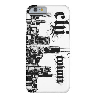 """Chicago """"chi-town"""" put on for your city barely there iPhone 6 case"""