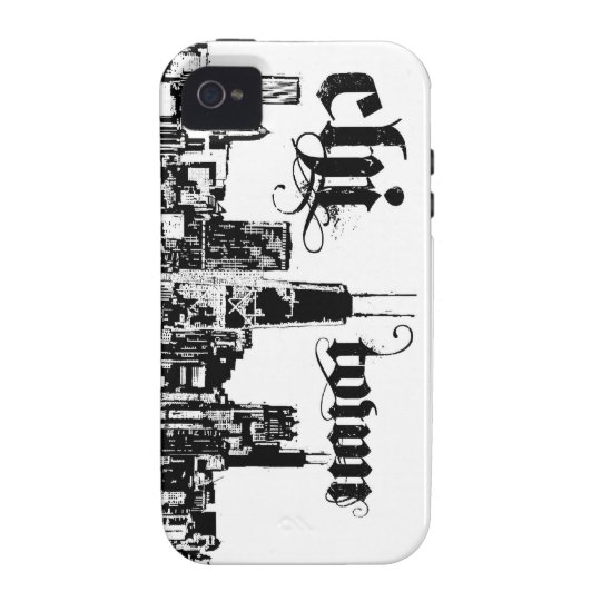 "Chicago ""chi-town"" put on for your city case for the iPhone 4"