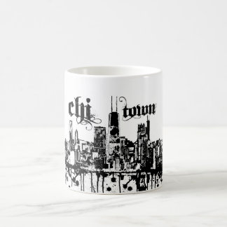 """Chicago """"chi-town"""" put on for your city coffee mug"""