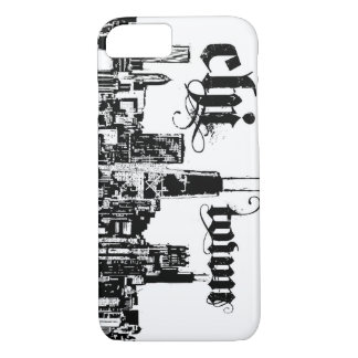 """Chicago """"chi-town"""" put on for your city iPhone 7 case"""