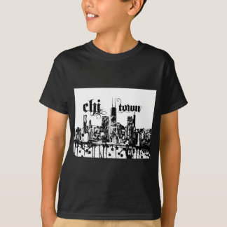 "Chicago ""chi-town"" put on for your city T-Shirt"