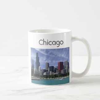 Chicago, Chicago Classic White Coffee Mug